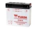 Batterie moto YUASA   51814 / 12v  18ah