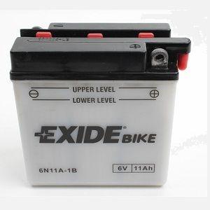 Batterie scooter EXIDE 6N11A-1B / 6v 11ah