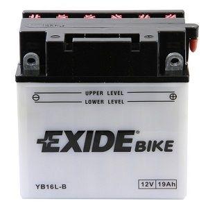 Batterie scooter EXIDE YB16L-B / 12v 19ah