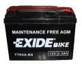 Batterie scooter EXIDE YTR4A-BS / 12v 2.3ah