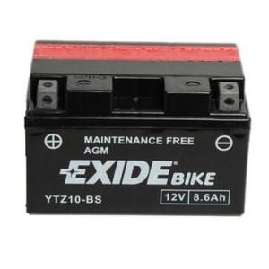 Batterie scooter EXIDE YTZ10-BS / 12v 8.6ah