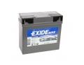 Batterie moto EXIDE GEL12-19 / 12v 19ah