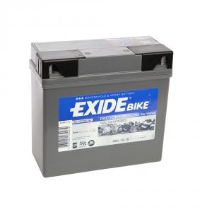 Batterie moto EXIDE GEL12-19 / 12v 19ah 170A