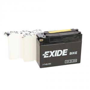 Batterie moto EXIDE YT4B-BS / 12v 2.3ah