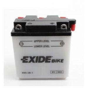 Batterie quad EXIDE 6N6-3B-1 / 6v 6ah
