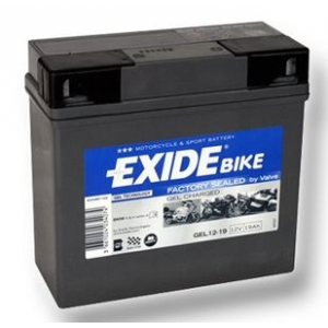 Batterie quad EXIDE GEL12-19 / 12v 19ah