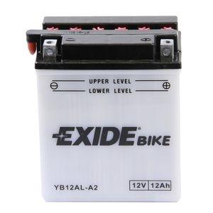 Batterie quad EXIDE YB12AL-A2 / 12v 12ah