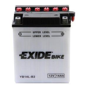 Batterie quad EXIDE YB14L-B2 / 12v 14ah