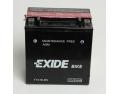 Batterie quad EXIDE YTX16-BS / 12v 14ah