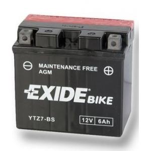 Batterie quad EXIDE YTZ7-BS / 12v 6ah