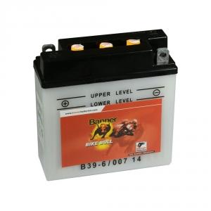 Batterie moto BANNER B39-6 / 6v 7ah
