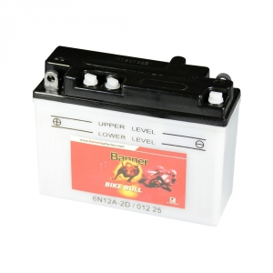 Batterie moto BANNER 6N12A-2D / 6v 12ah