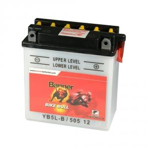 Batterie moto BANNER YB5L-B / 12v 5ah