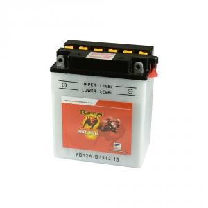 Batterie moto BANNER YB12A-B / 12v 12ah