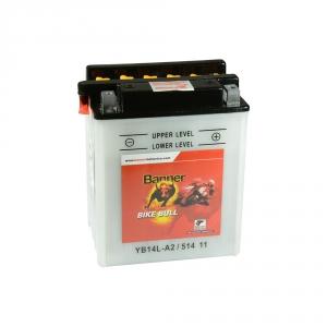 Batterie moto BANNER YB14L-A2 / 12v 14ah