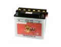 Batterie moto BANNER YB16-B / 12v 19ah