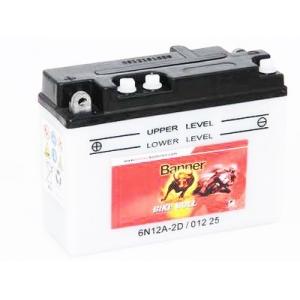 Batterie scooter BANNER 6N12A-2D / 6v 12ah