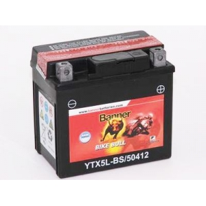 Batterie scooter BANNER YTX5L-BS / 12v 4ah
