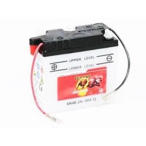 Batterie quad BANNER 6N4B-2A / 6v 4ah