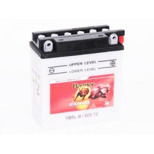 Batterie quad BANNER YB5L-B / 12v 5ah