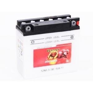 Batterie quad BANNER 12N5.5-3B / 12v 5.5ah