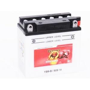 Batterie quad BANNER YB9-B / 12v 9ah