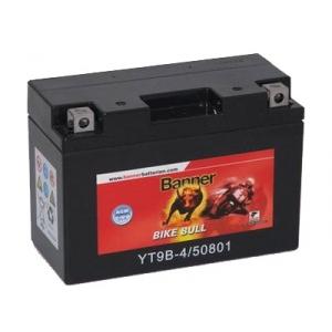 Batterie quad BANNER YT9B-4 / 12v 8ah