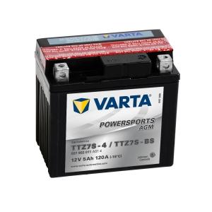 Batterie moto VARTA YTZ7S-BS / 12v 5ah
