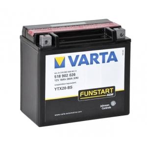 Batterie scooter VARTA YTX20-BS / 12v 18ah