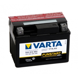Batterie quad VARTA YT4L-BS / 12v 3ah