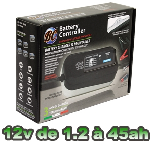 Chargeur batterie moto BC-JUNIOR 900 0.9a
