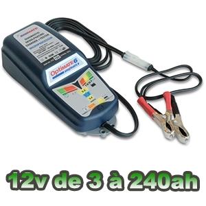 Chargeur batterie OPTIMATE 6 de 3 à 240ah