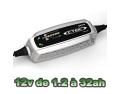 Chargeur batterie moto CTEK XS0.8A de 1.2 à 32 ah