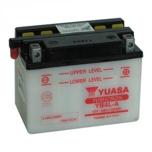 Batterie moto YUASA  YB4L-A / 12v  4ah