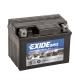 Batterie moto EXIDE AGM12-4 12V 3ah 50A