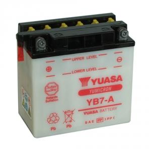 Batterie moto YUASA   YB7-A / 12v  8ah
