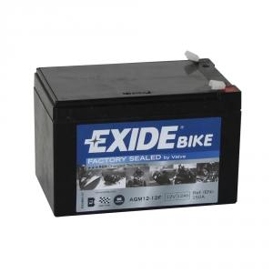 Batterie moto EXIDE AGM12-12F 12V 12ah 100A