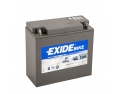 Batterie moto EXIDE GEL12-16 / 12v 16ah 100A