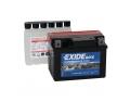 Batterie moto EXIDE YTX4L-BS / 12v 3ah