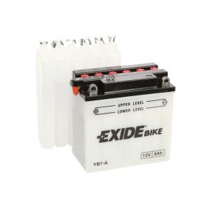 Batterie moto EXIDE YB7-A / 12v 8ah