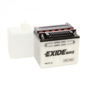 Batterie moto EXIDE YB7C-A / 12v 8ah