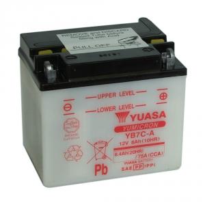 Batterie moto YUASA   YB7C-A / 12v  7.4ah