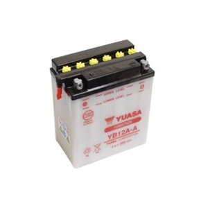 Batterie moto YUASA   YB12A-A / 12v  12ah